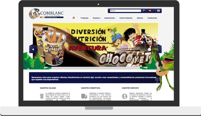 comblanc website